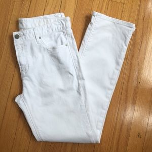 CCO Sale GAP Real Straight Size 27r White
